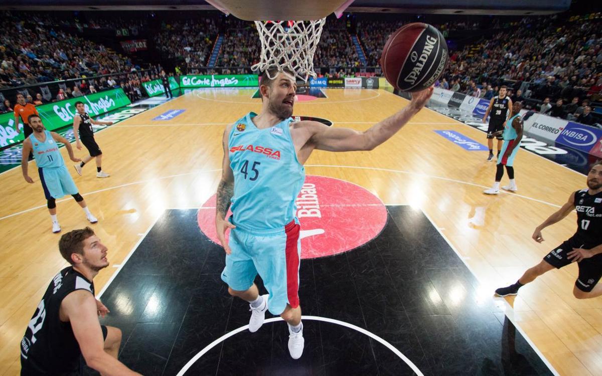 Bilbao Basket – Barça Lassa: Creixen sent una piconadora (83-104)