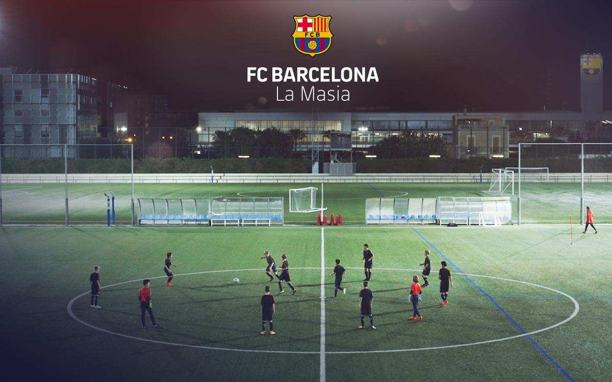 El FC Barcelona rinde homenaje al rondo