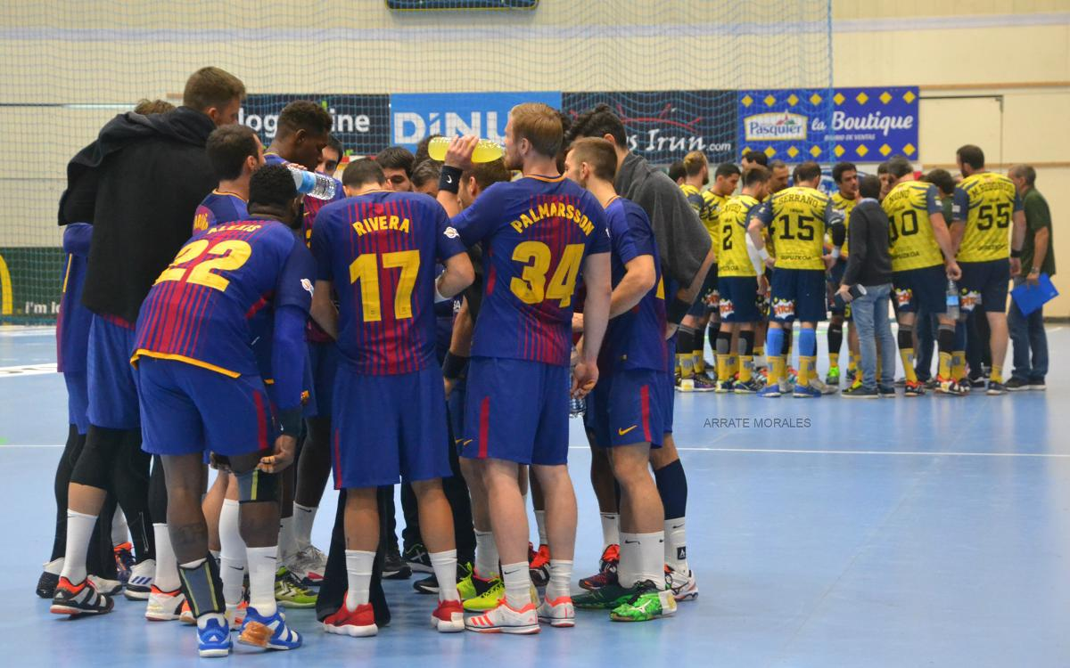 Bidasoa Irun – FC Barcelona Lassa: Good starting point for what's approaching (25-34)