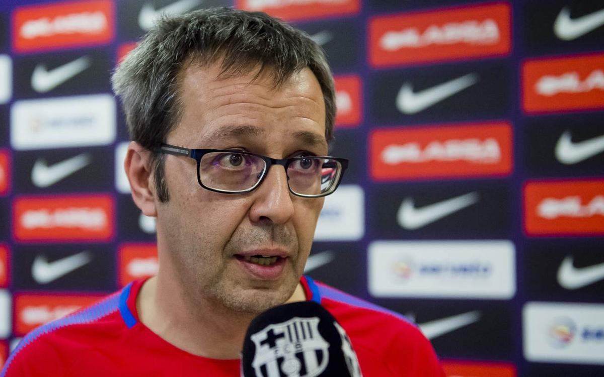 """Edu Castro: """"La Lliga Europea és el títol que se celebra més"""""""