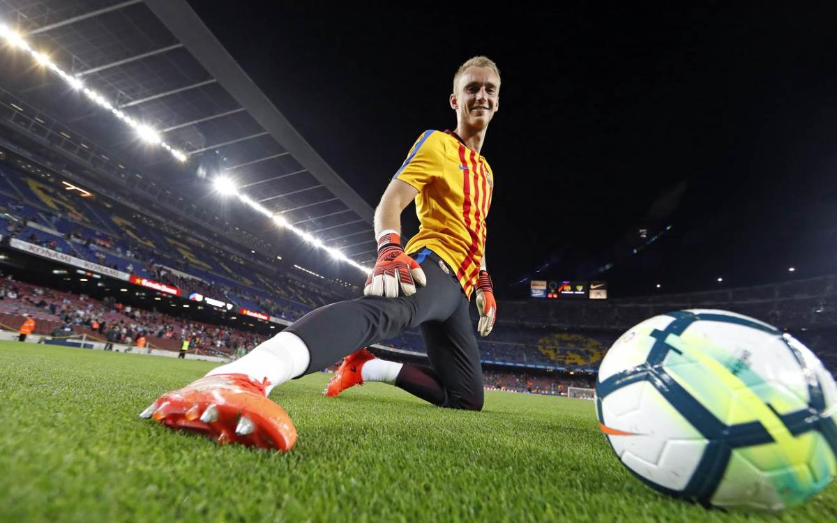 Cillessen ready for first minutes of the season