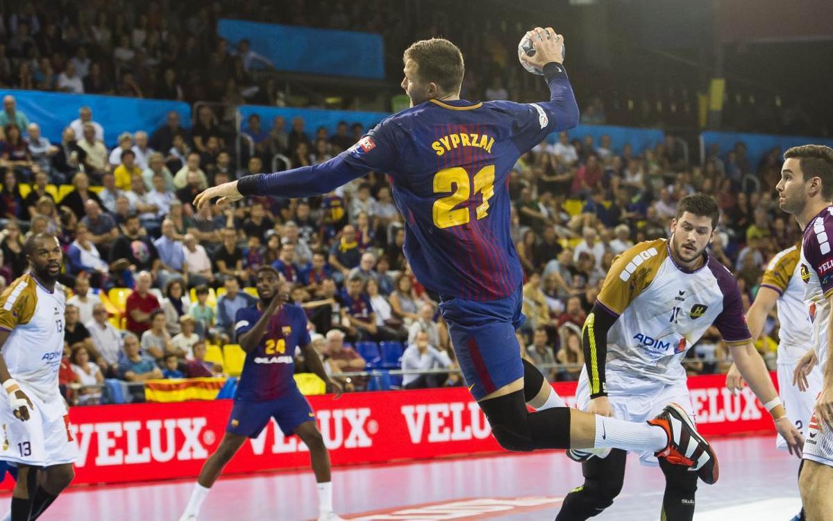 FC Barcelona Lassa – HBC Nantes: Remuntada per continuar sumant (31-25)