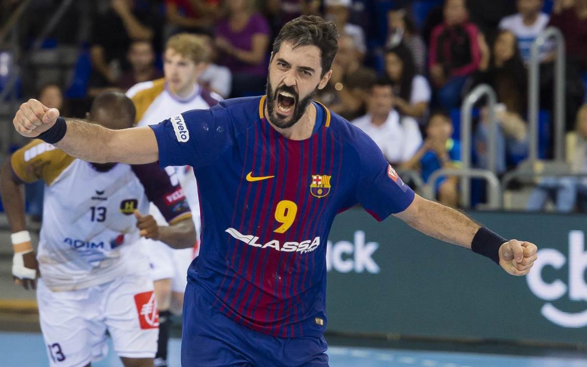 FC Barcelona Lassa – RK Zagreb: Vuelve la Champions con bienvenida