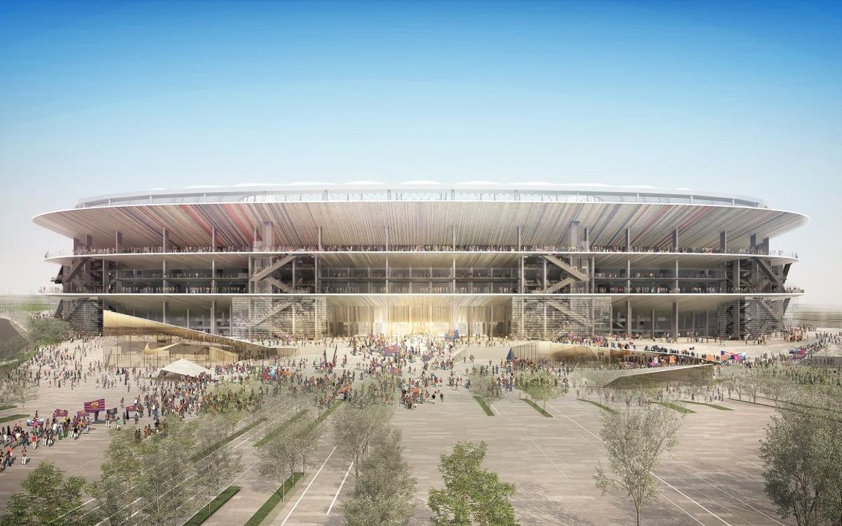 El Barça obre la preinscripció per al concurs de licitació dels treballs principals del futur Camp Nou