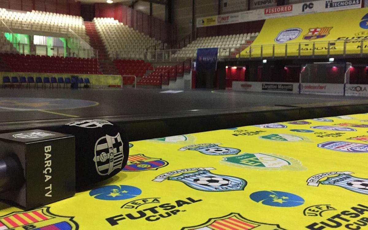 Más UEFA Futsal Cup en BarçaTV y en la web del club