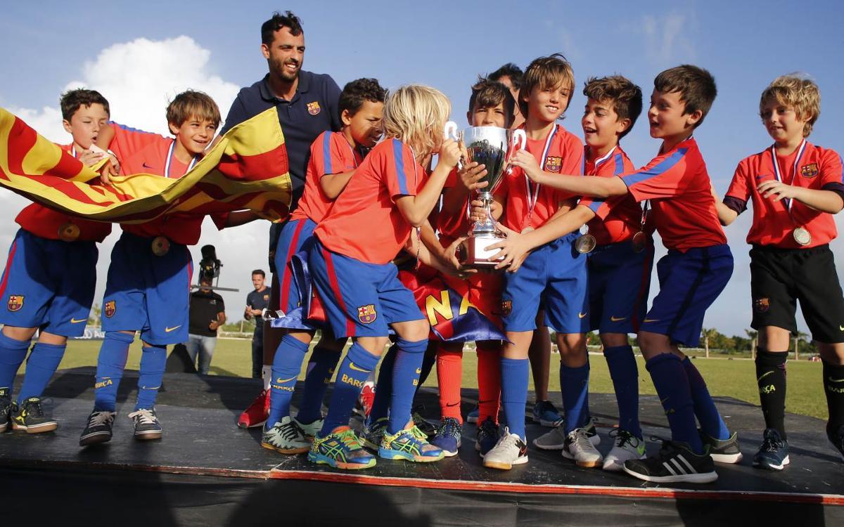 Gran éxito organizativo del Torneo Internacional Las Américas FCBEscola 2016