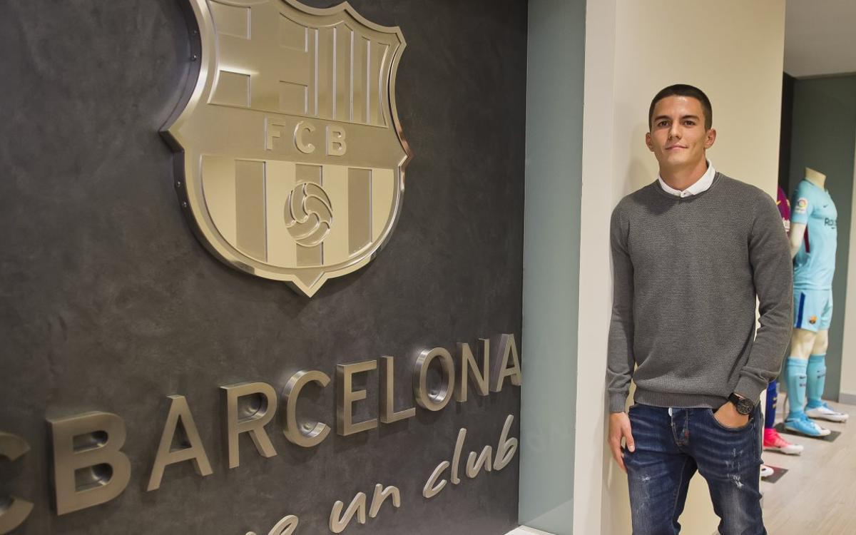 """Palencia: """"És un orgull renovar en aquest club tan exigent, en el qual porto tants anys"""""""