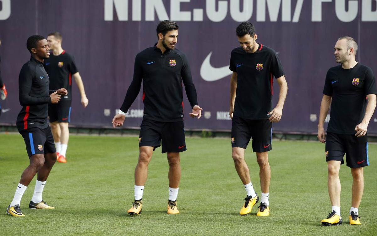 Players returning ahead of Atlético Madrid match