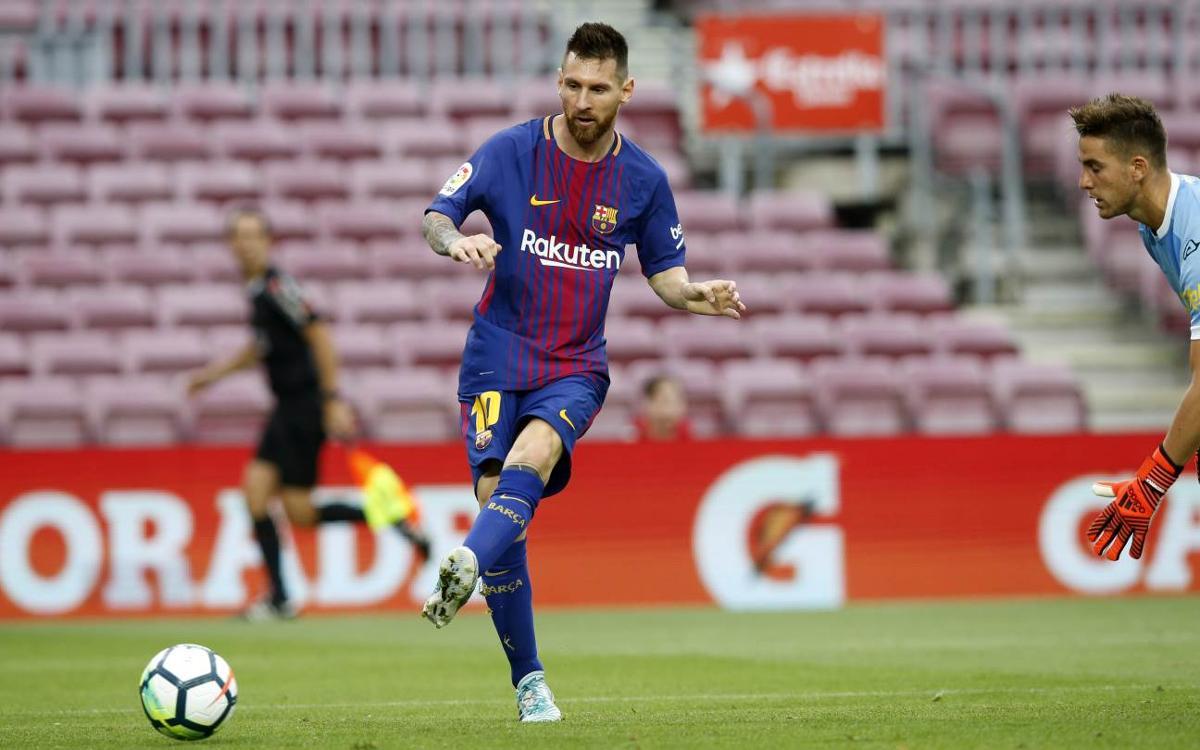 FC Barcelone - Las Palmas (3-0)
