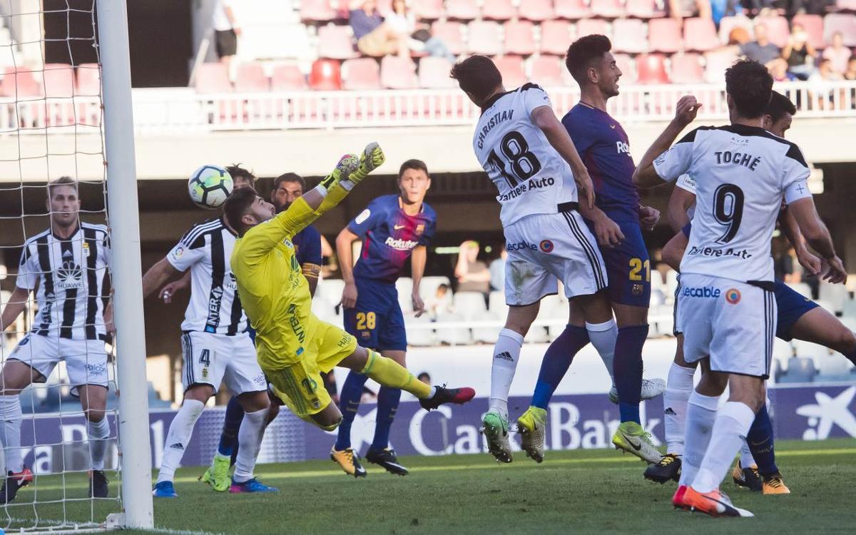 CD Numancia – Barça B: El segundo hueso de la semana