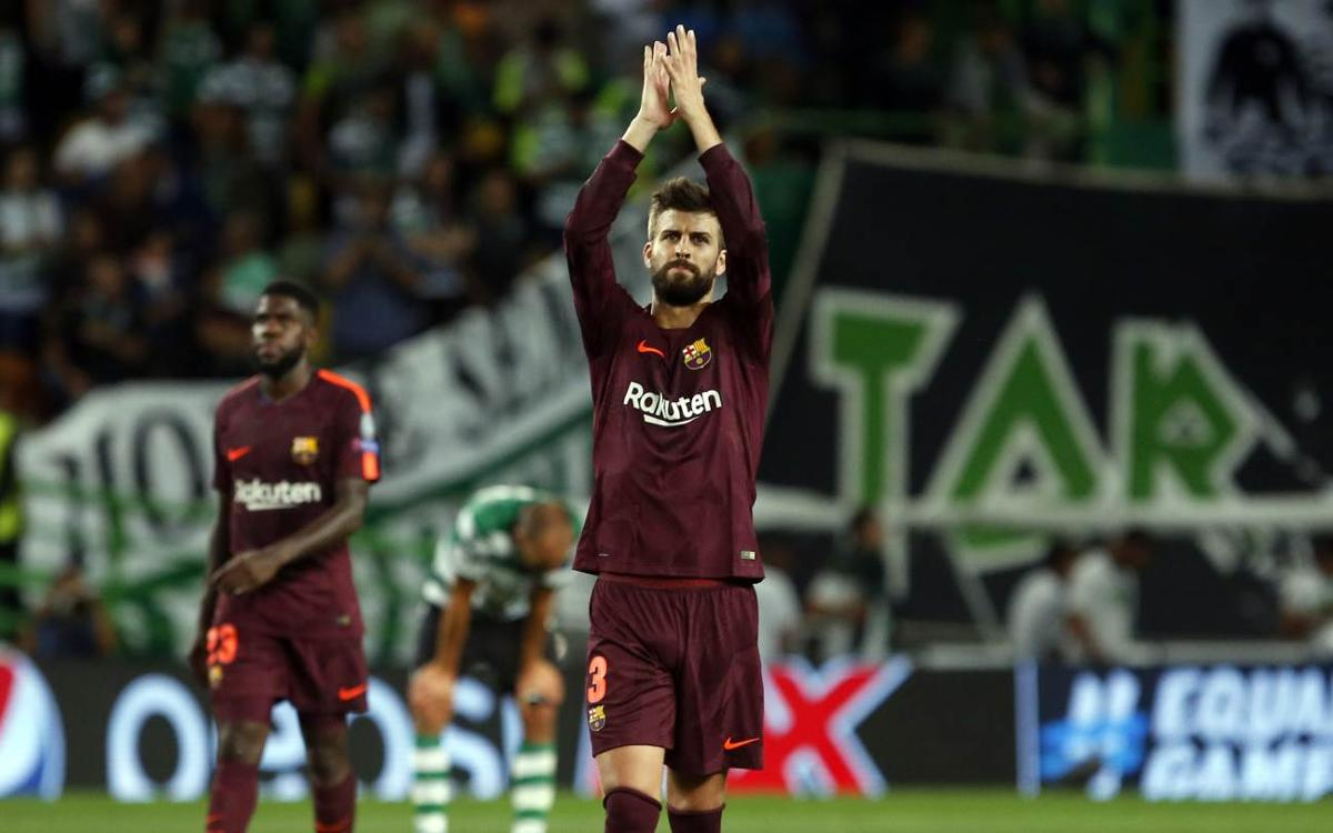 Piqué: 'Through respect and dialogue we can come to understand one another'