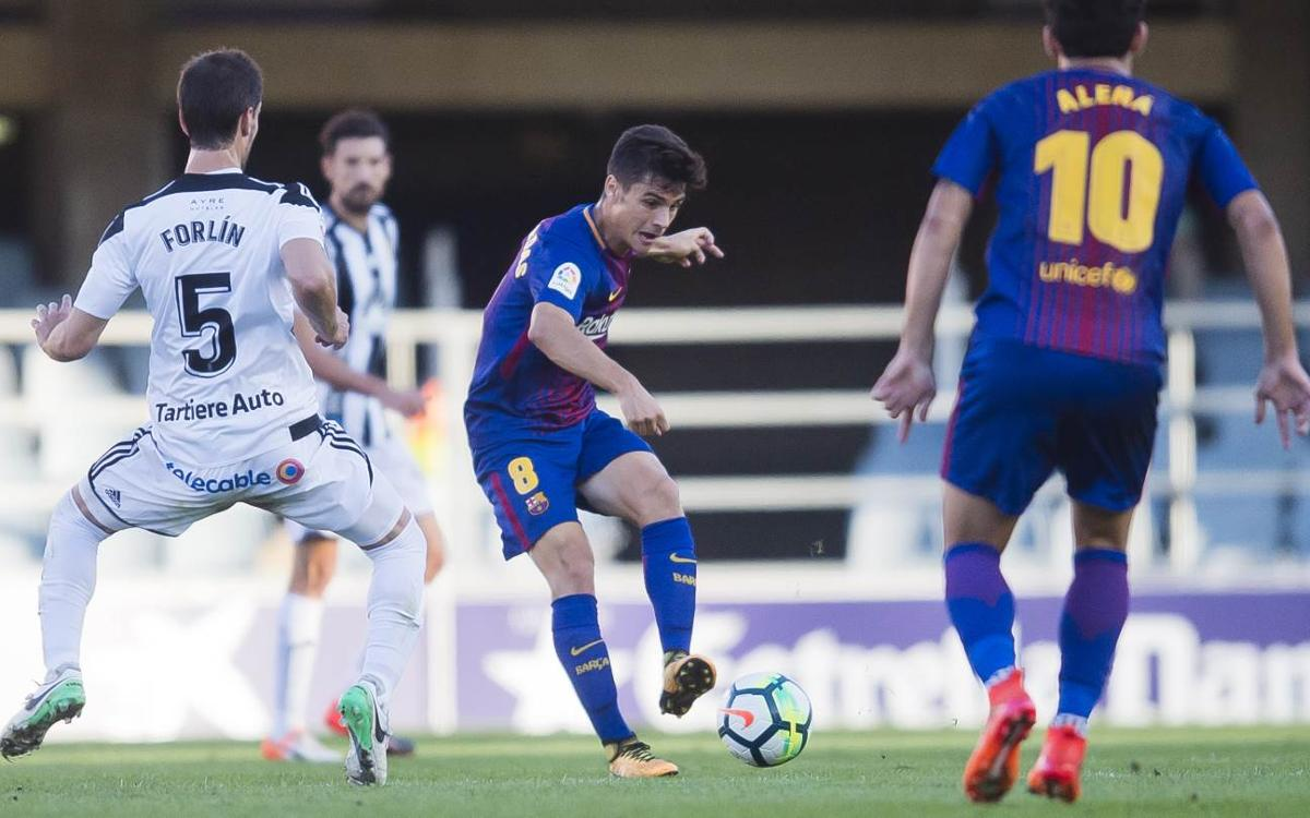 Barça B – Lorca FC: Duelo de recién ascendidos para terminar la semana