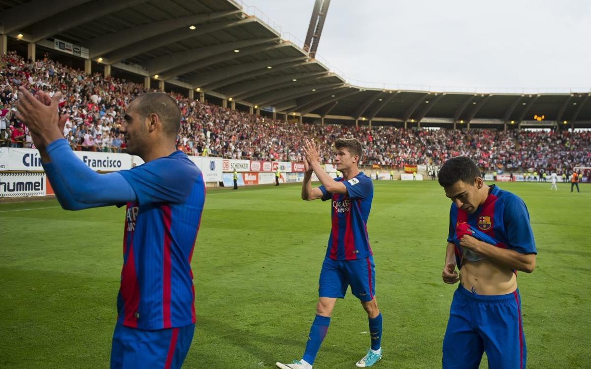 CyD Lleonesa – Barça B: Volen treure's l'espina del play-off