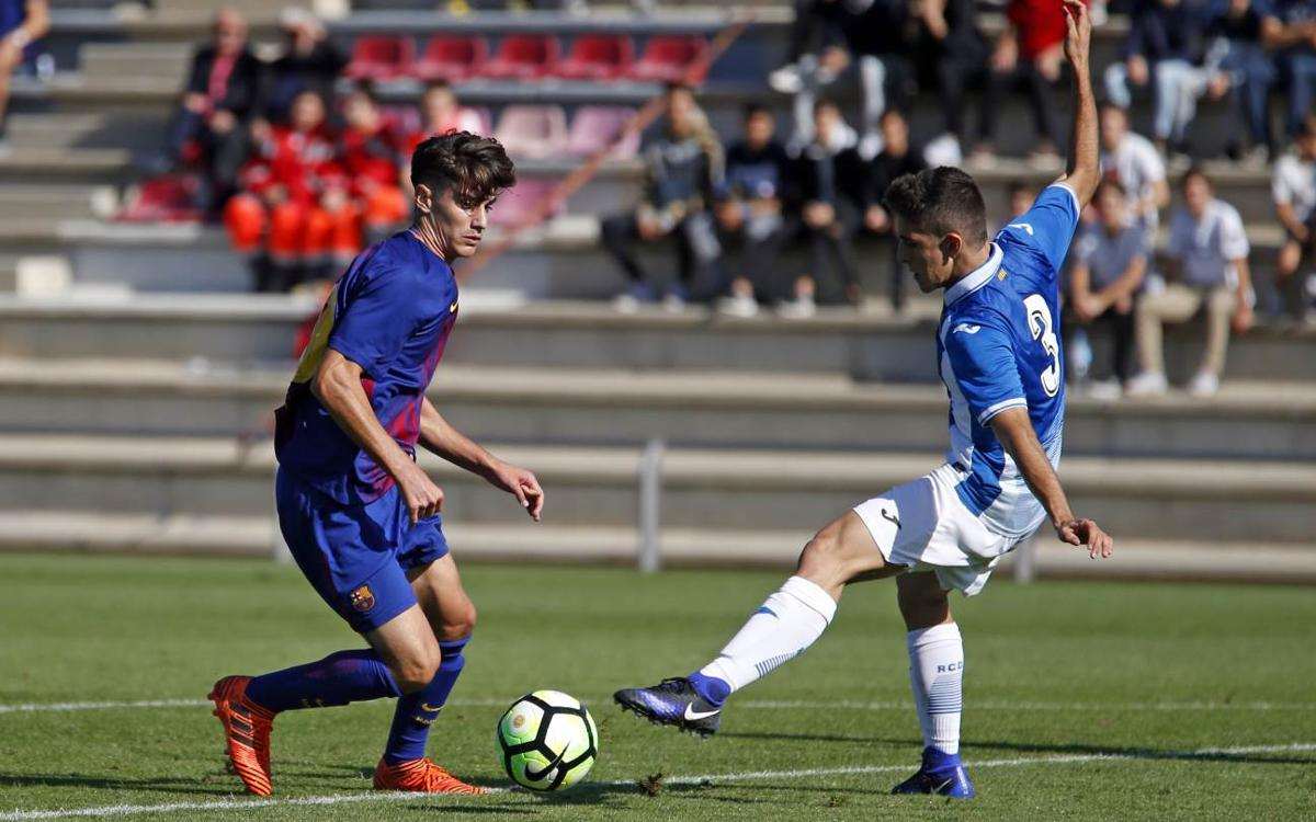 Juvenil A - RCD Espanyol: La batuta de Collado no es suficiente (1-1)