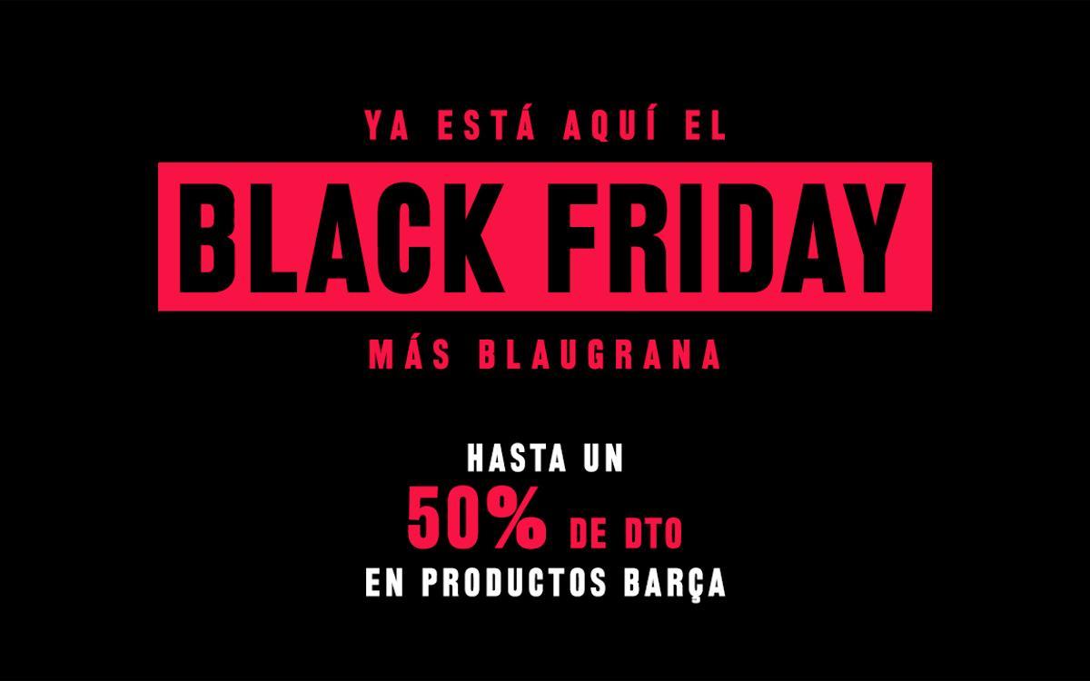 Vive la magia del Black Friday en el Camp Nou
