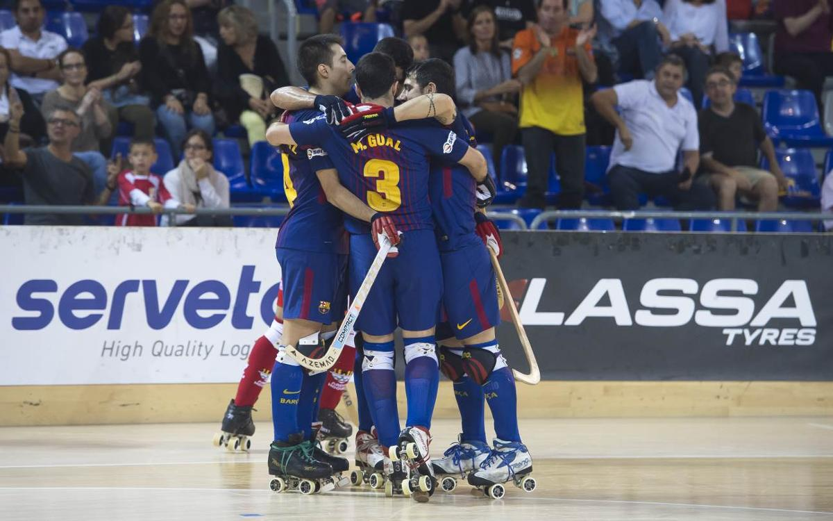El Barça Lassa de hockey patines, preparado para un noviembre intenso y exigente