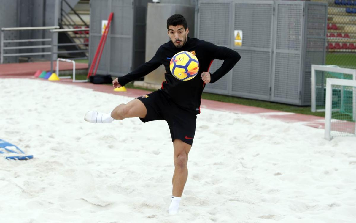 Luis Suárez and his fitness work