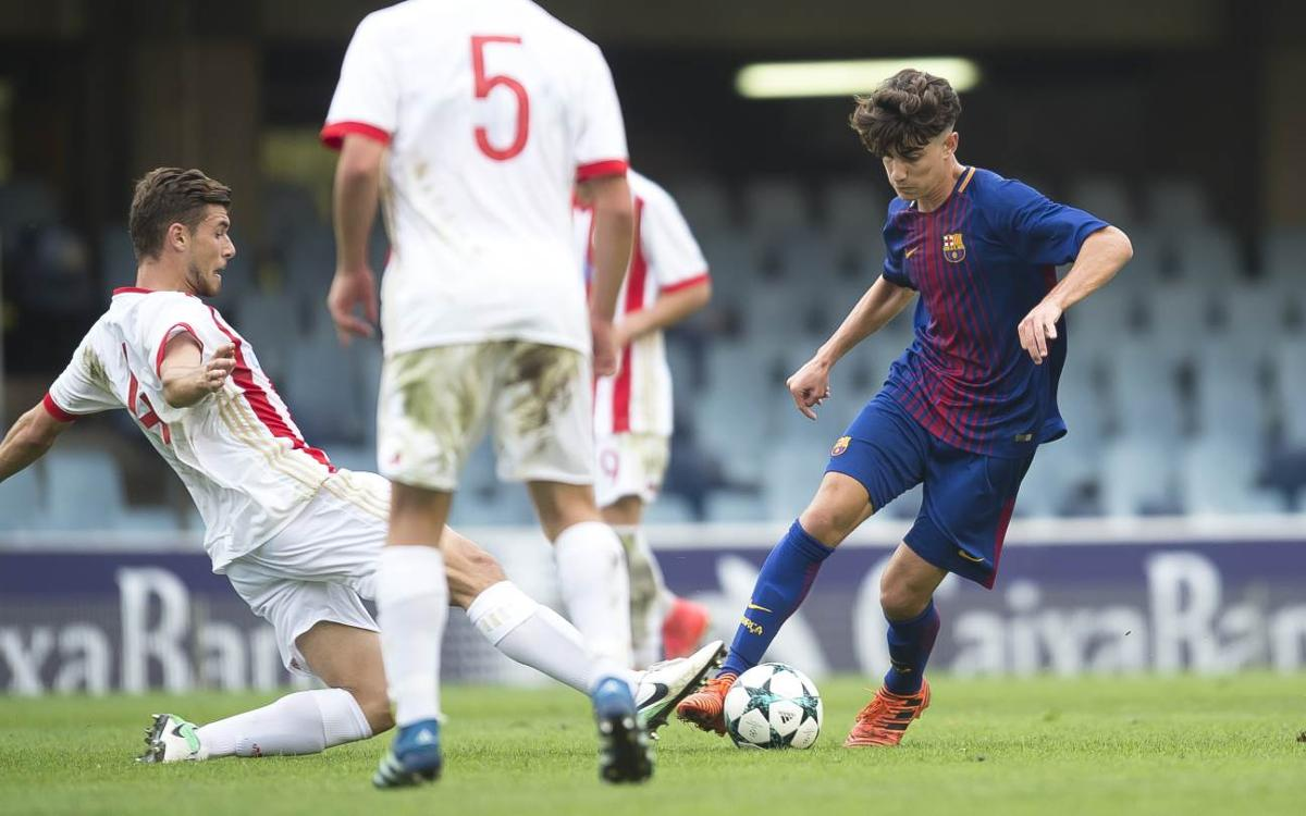 Olympiacos FC – Juvenil A: A una victòria de la classificació