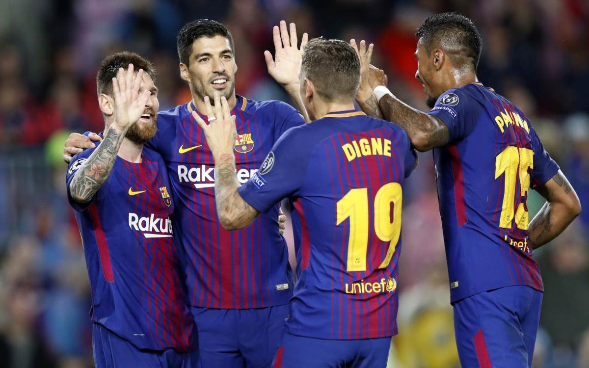 FC Barcelona v Olympiacos: Barça pass Greek test (3-1)