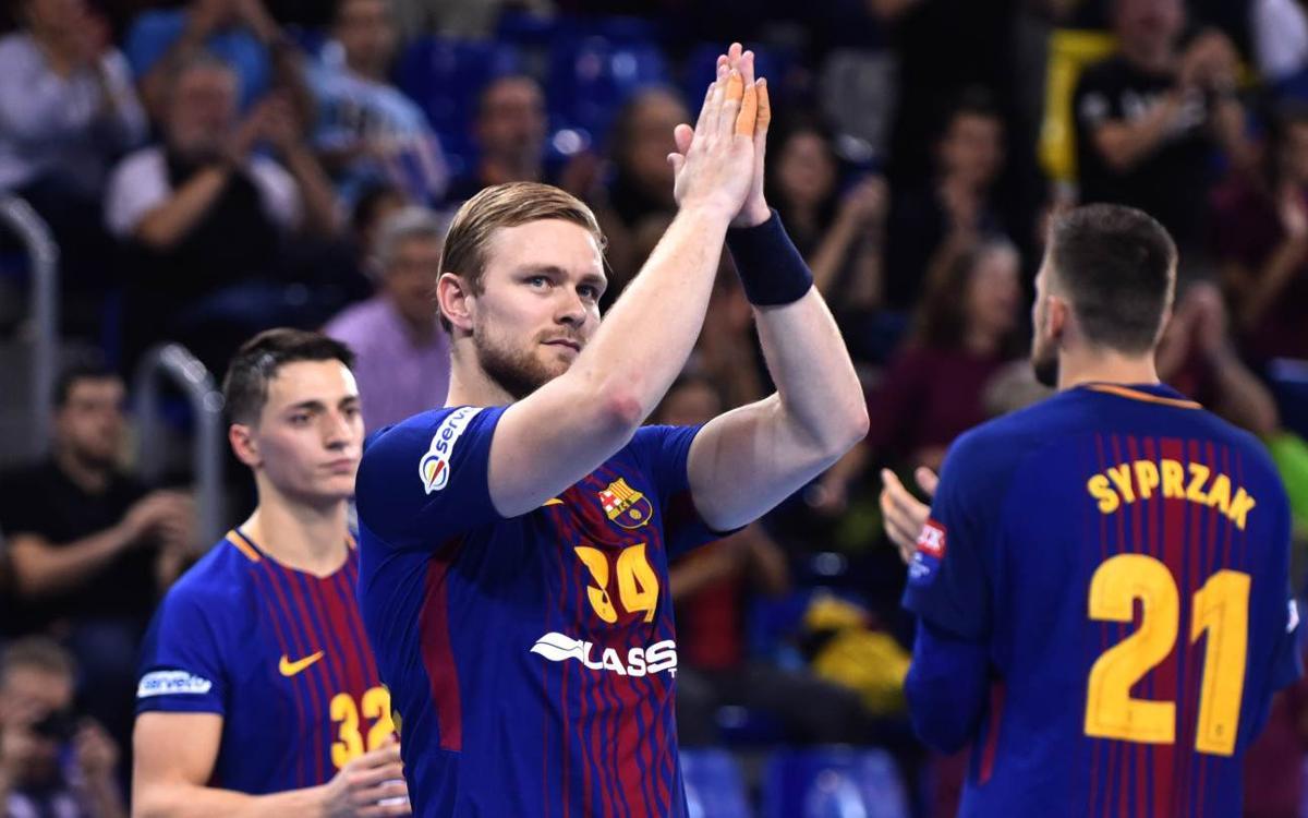 FC Barcelona Lassa – Rhein-Neckar Löwen: Espectacle al Palau amb una visita d'alçada