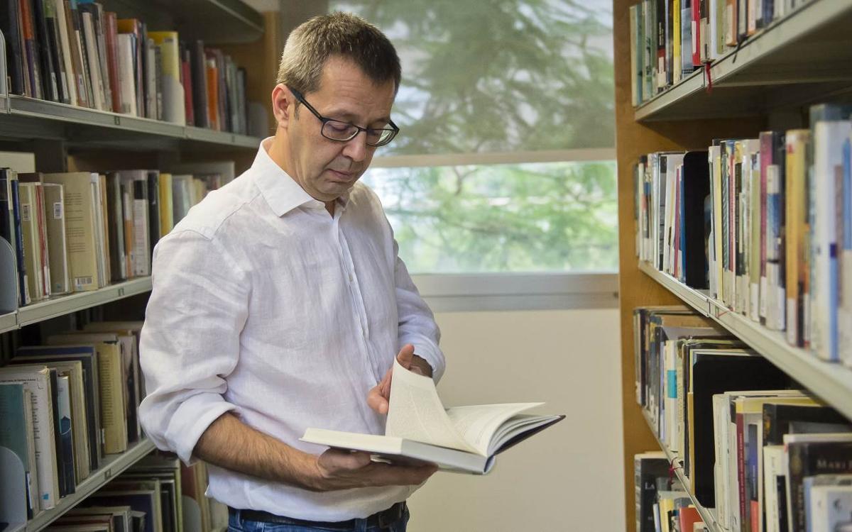 Edu Castro, un apasionado de la literatura