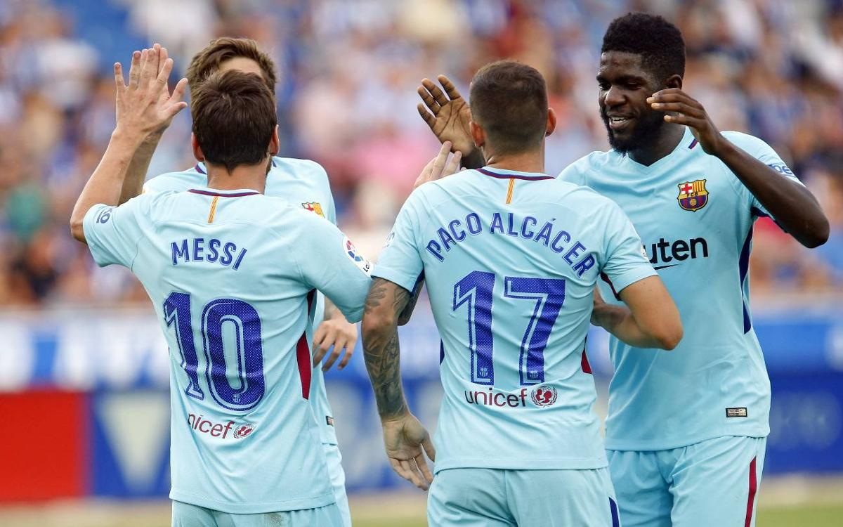 By the Numbers: Alavés 0-2 FC Barcelona