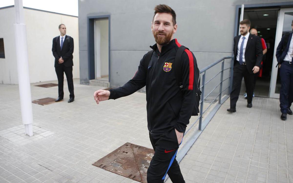 Barça travel to Madrid