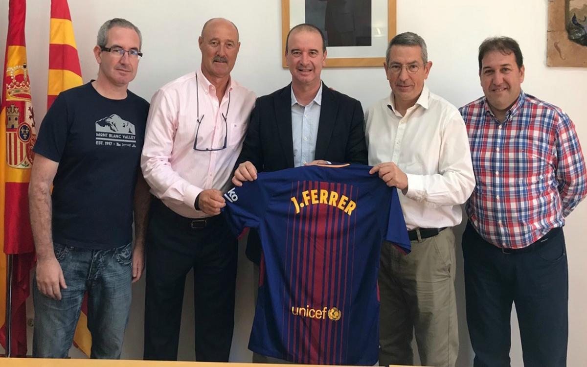 Celebración de los 25 años de la Penya Blaugrana Santa Eulària des Riu