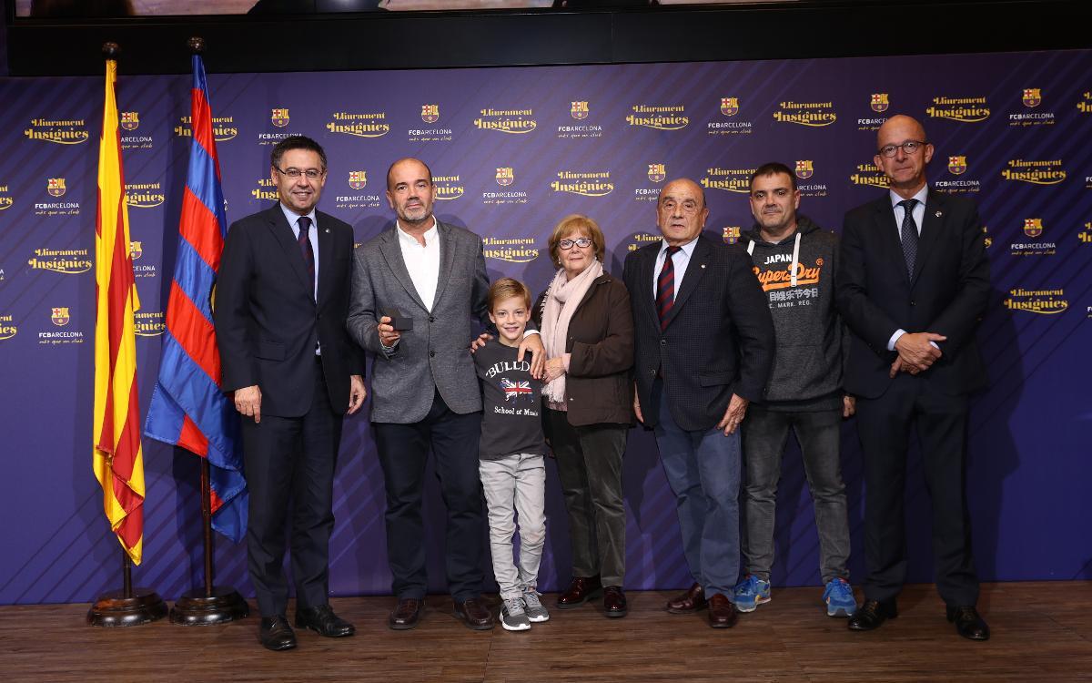 Multitudinario reconocimiento a 50 años de vinculación al Club