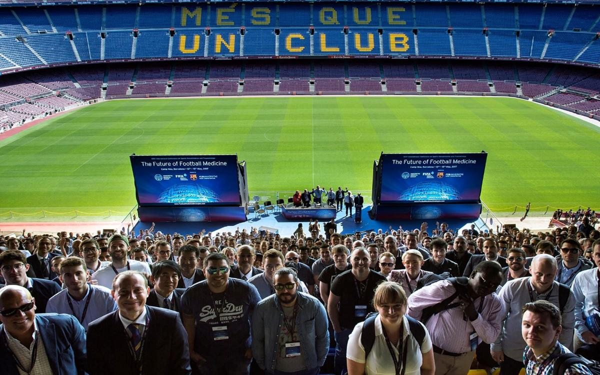 Camp Nou to host 'Football Medicine Outcomes', the world's largest conference in the field