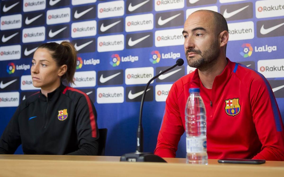 """Fran Sánchez: """"No pensem en passar l'eliminatòria sinó en guanyar el partit"""""""
