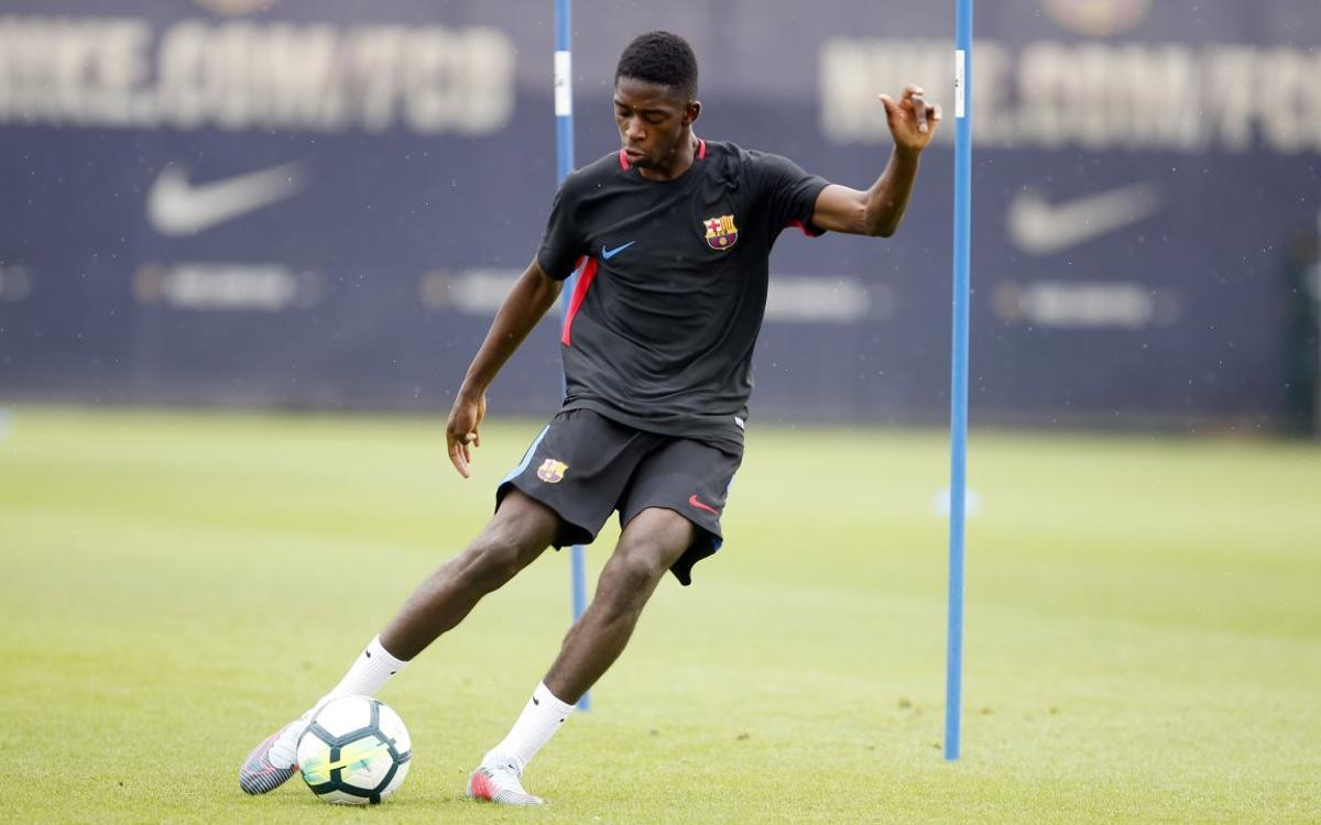 Training schedule for Barcelona derby week