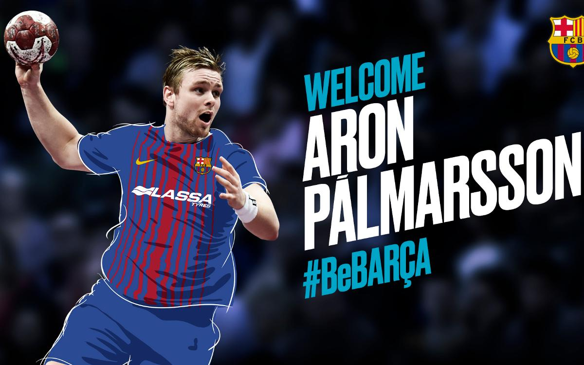Aron Pálmarsson to strengthen Barça Lassa