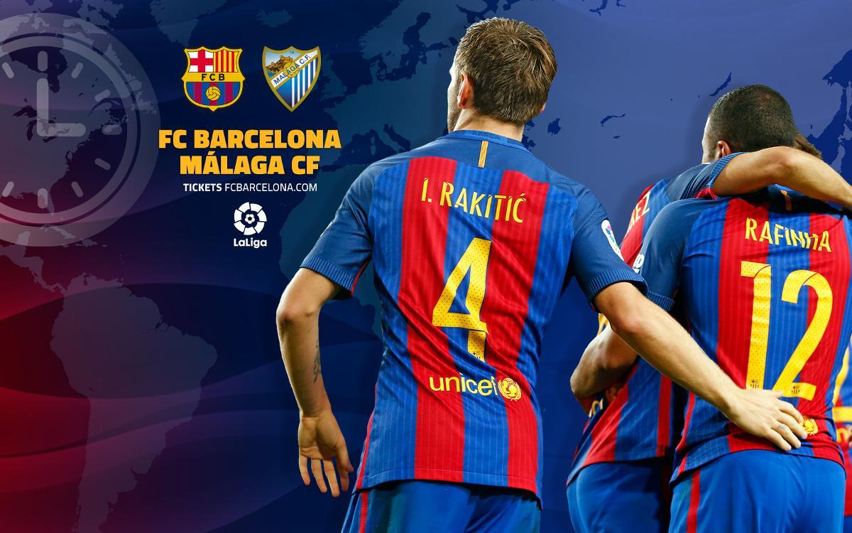 Où et quand voir FC Barcelone - Malaga