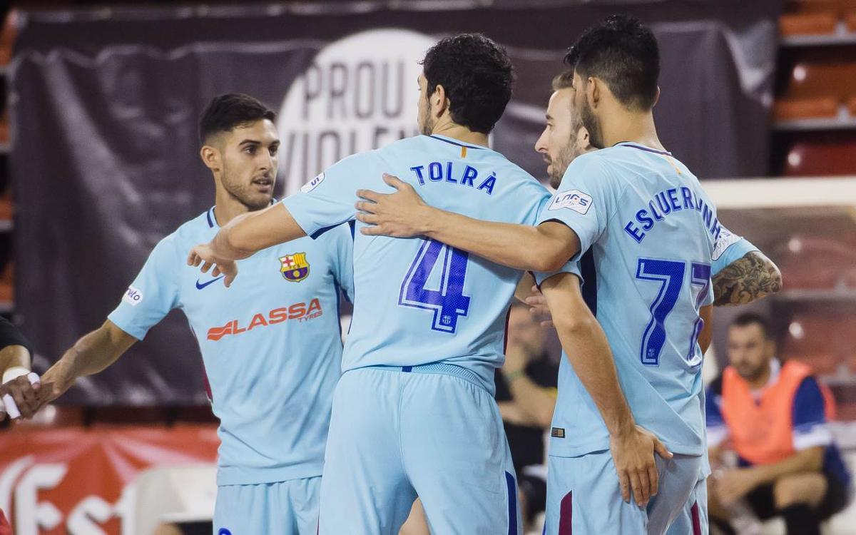 FC Barcelona Lassa 12-2 CFS La Unión Santa Coloma: Copa Catalunya finalists