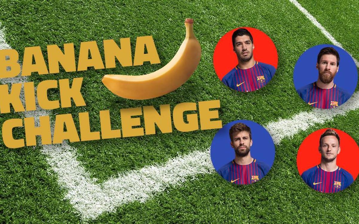 誰のバナナシュートが最も正確?