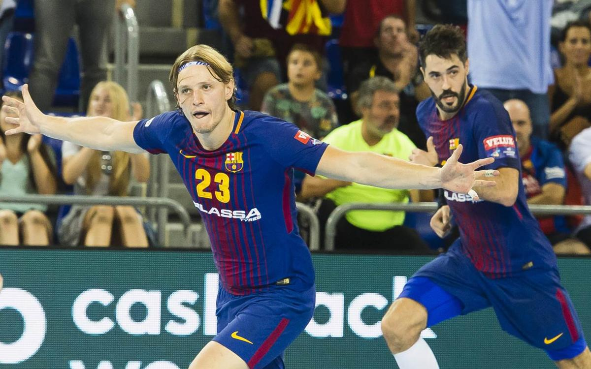 FC Barcelona Lassa - IFK Kristianstad: Carácter para sumar una sufrida victoria (31-29)