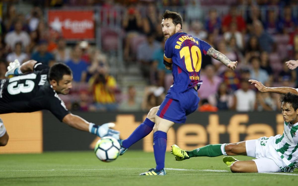 El Barça, el rei de les pilotes al pal