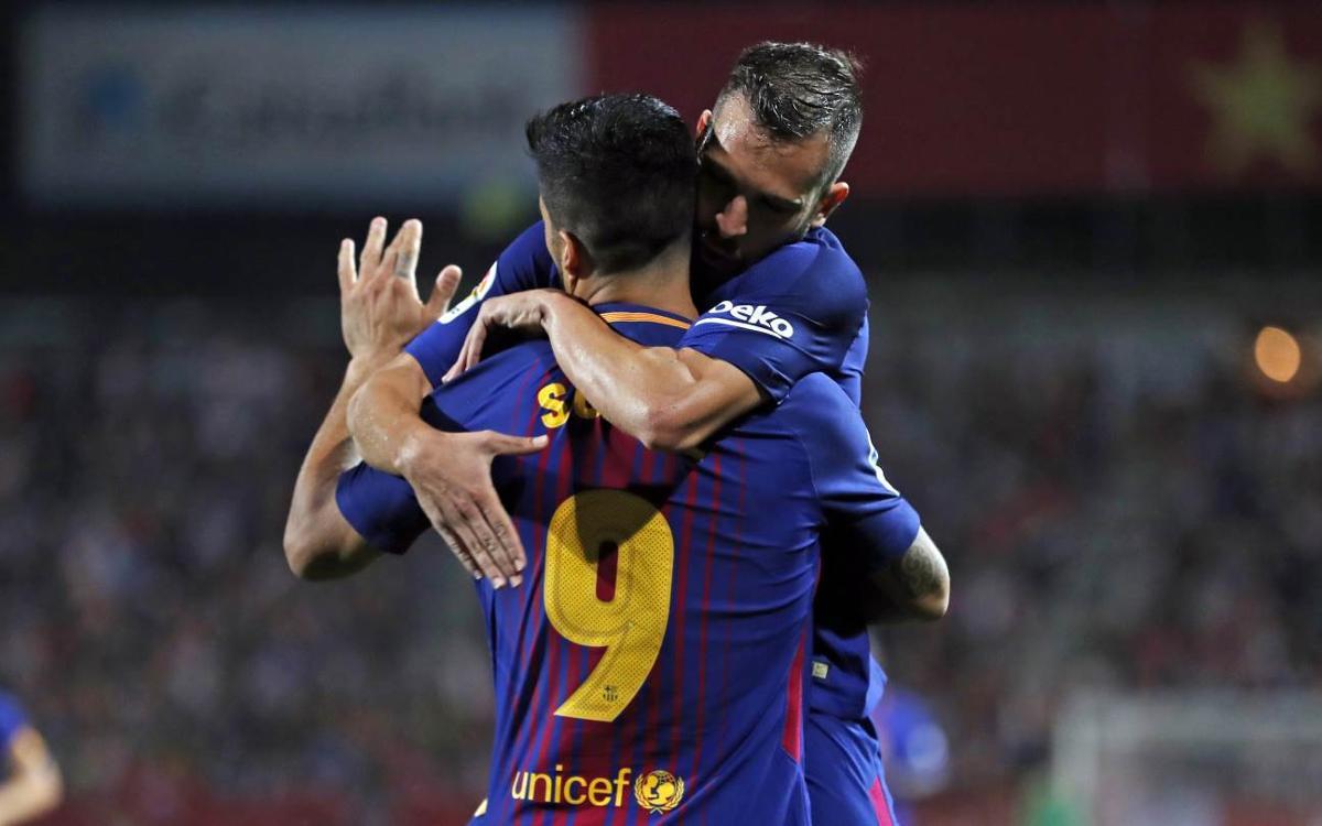 モンティリビでバルセロナが勝利した試合のハイライトビデオ