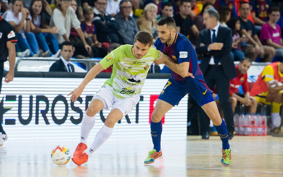El Palma Futsal, rival als vuitens de Copa del Rei