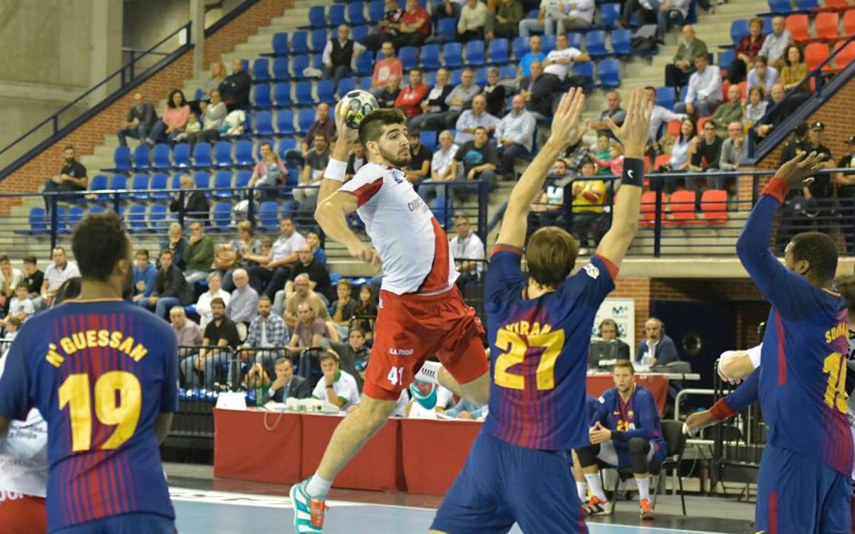 BM Logroño La Rioja - FC Barcelona Lassa: Another strong defensive performance (25-32)