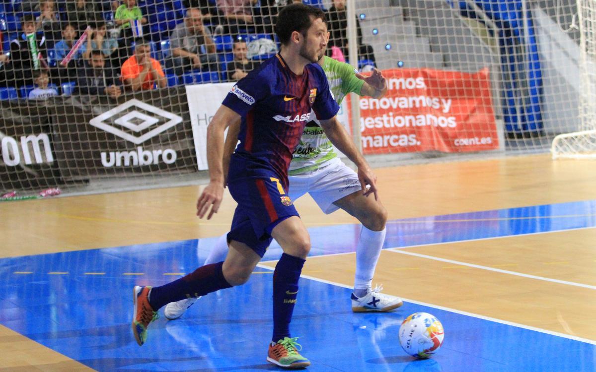 Palma Futsal – FC Barcelona: Hacia cuartos con resistencia (0-2)