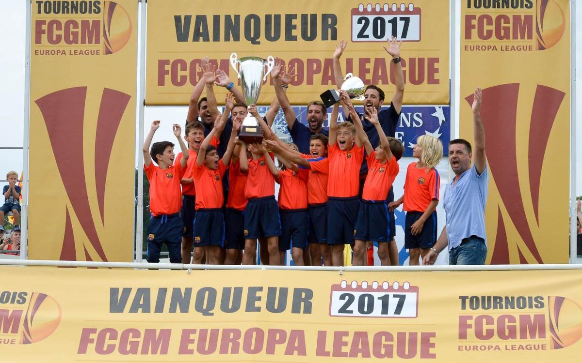 La FCBEscola Barcelona, campeona de la Europa League en el torneo FGCM