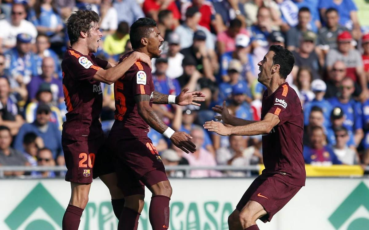 [MATCH REPORT] Getafe 1-2 Barça: Super subs do the job