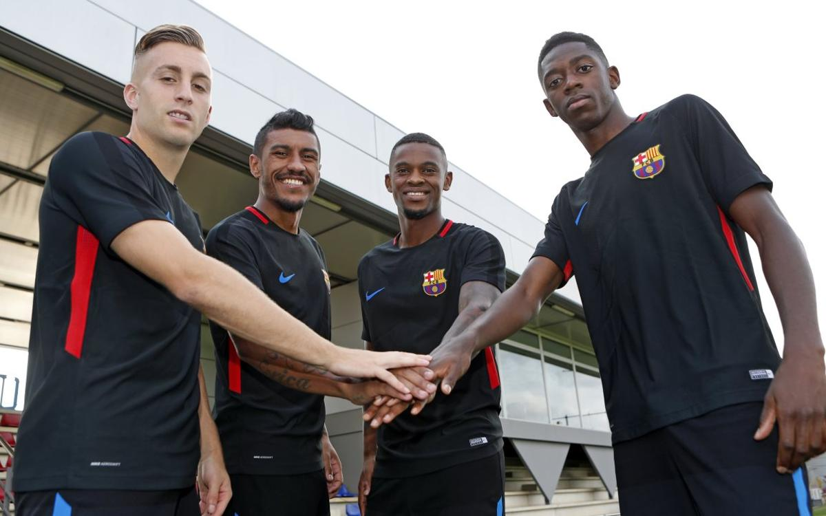 Les 4 recrues du FC Barcelone, au point pour le derby catalan