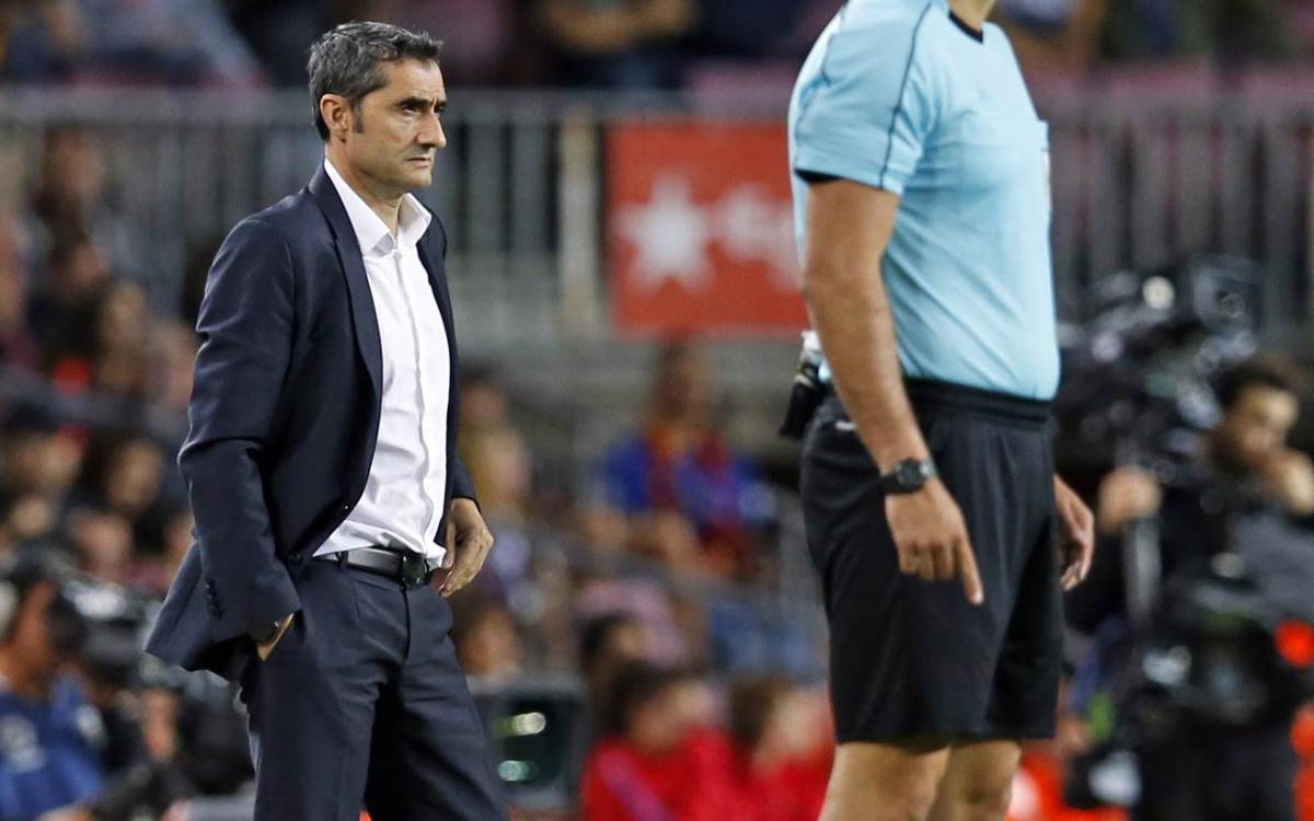 """Ernesto Valverde: """"S'acaben les paraules per definir Leo Messi"""""""