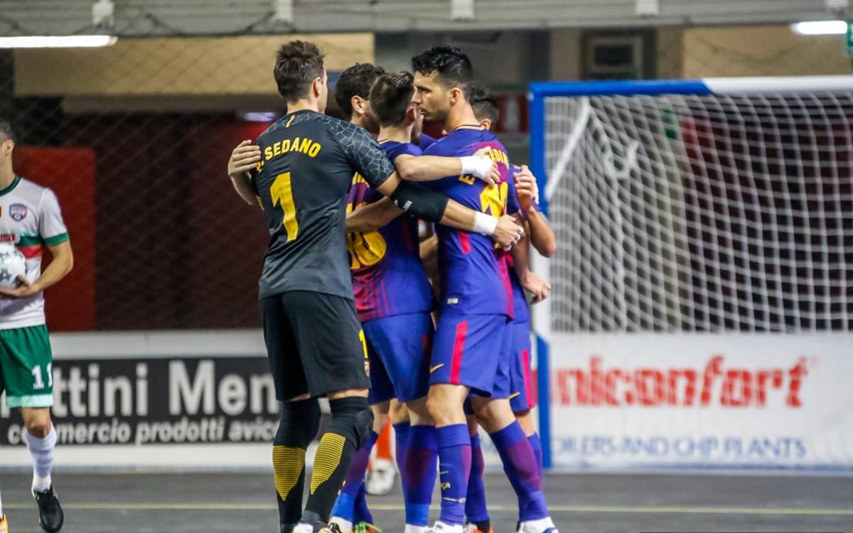 Barça Lassa – Luparense: Perseverance pays off in Italy (3-3)