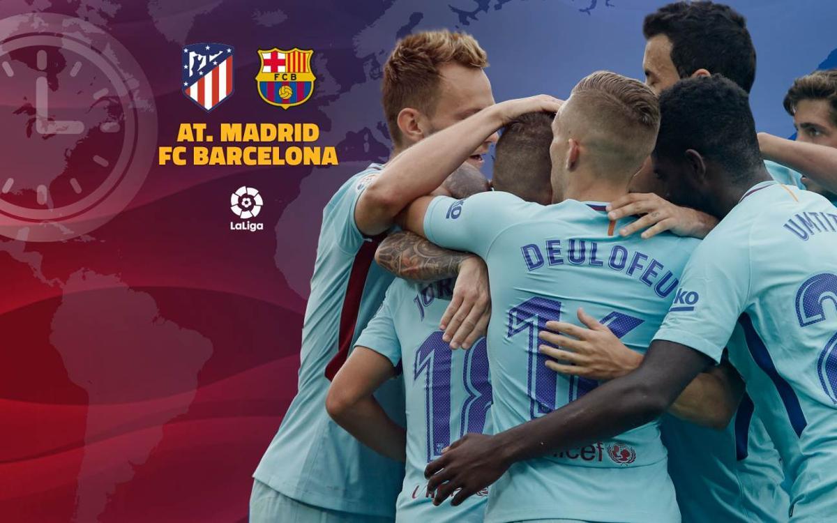Où et quand voir Atlético de Madrid - FC Barcelone
