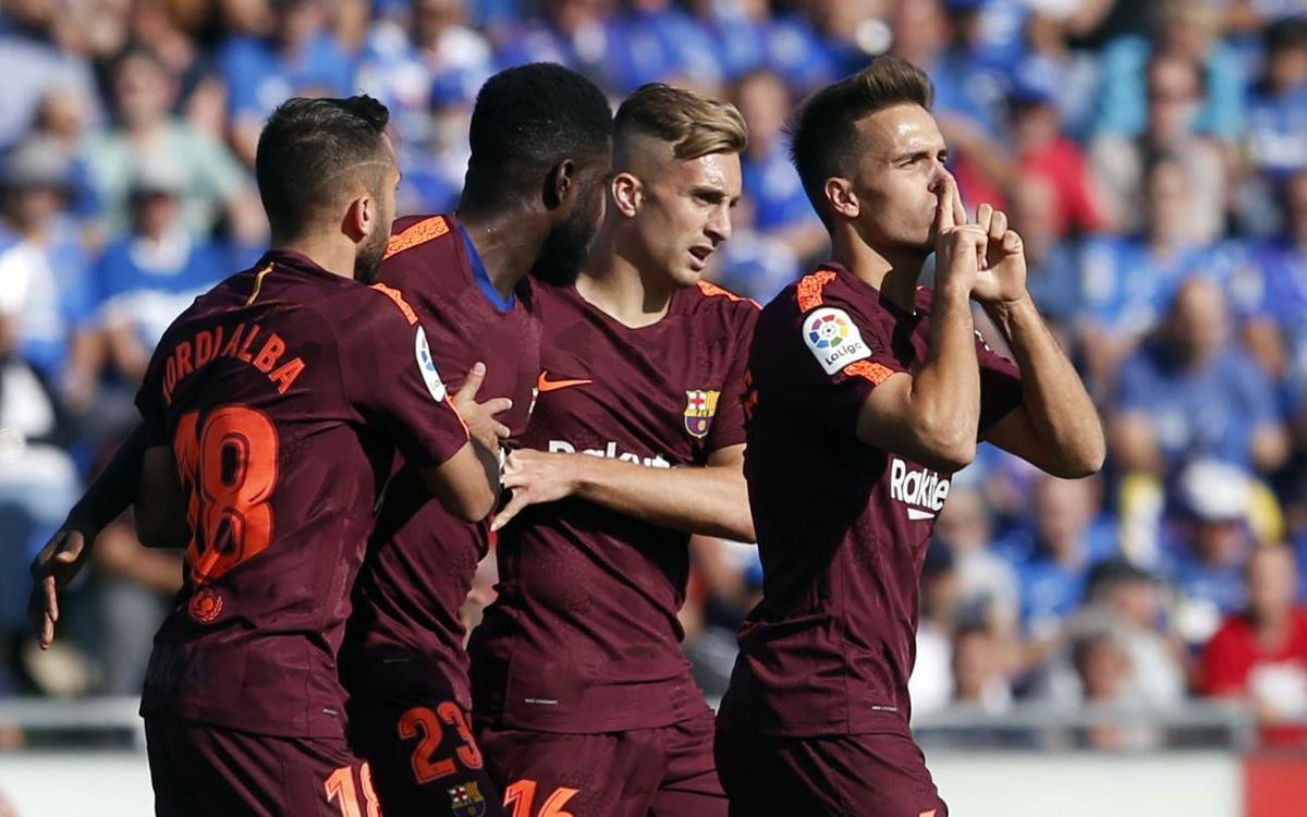 Chronique | Getafe – FC Barcelone : Jokers de luxe (1-2)