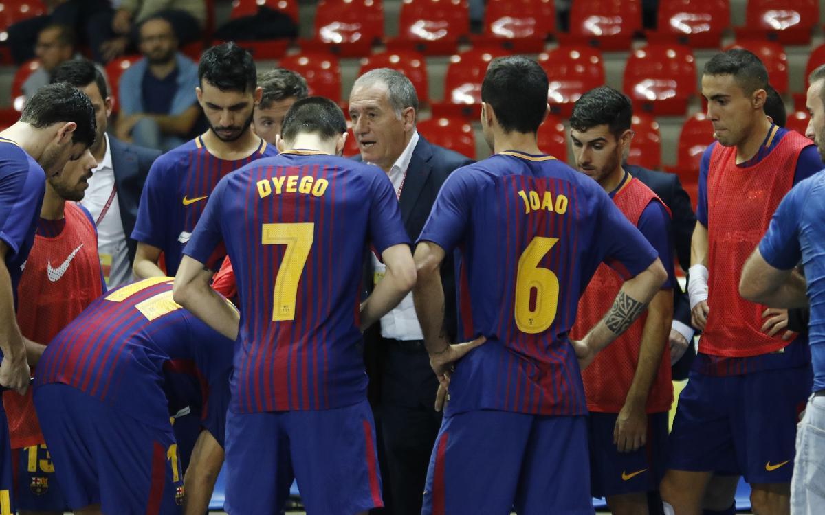 """Andreu Plaza: """"És important assegurar la primera posició"""""""
